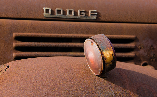Rusty Truck - 2 by Paul Mennill