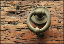 A door knocker in Rome - Judy Jewell